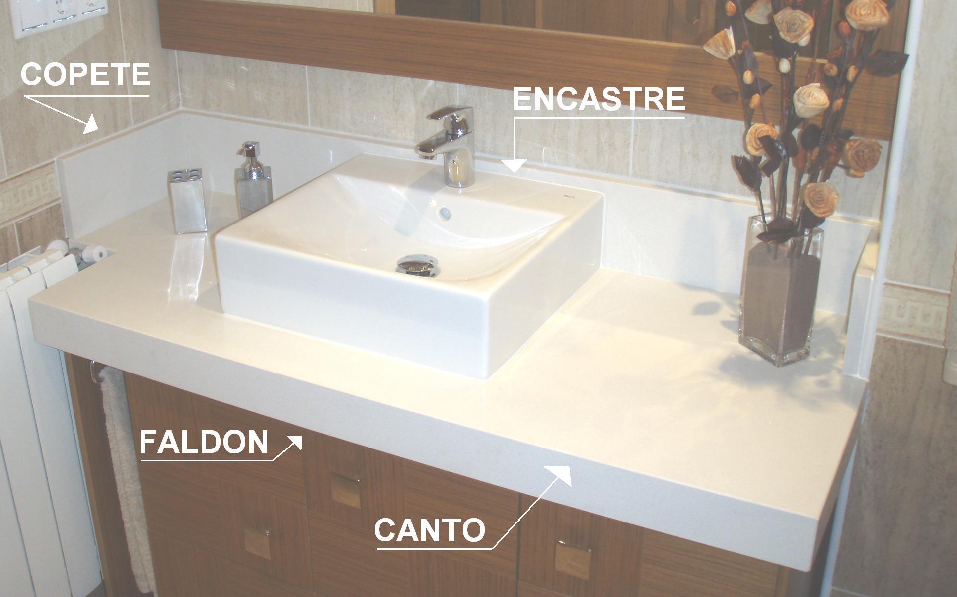 Marmolistas alicante encimeras de ba o silestone granito - Encimeras de marmol para lavabos ...
