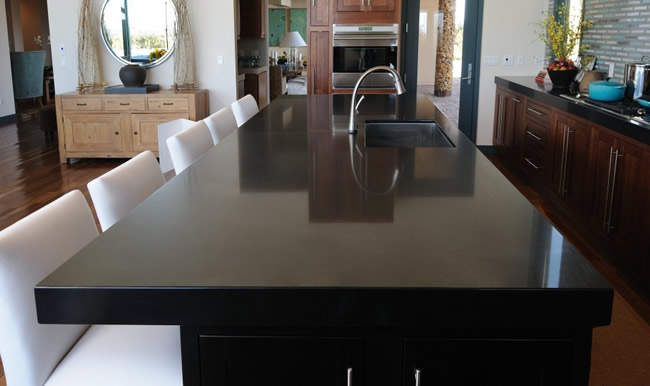 galer a fotogr fica de encimeras de silestone 4. Black Bedroom Furniture Sets. Home Design Ideas
